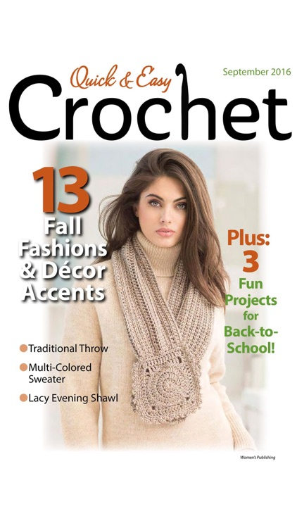 Quick & Easy Crochet Magazine screenshot-3