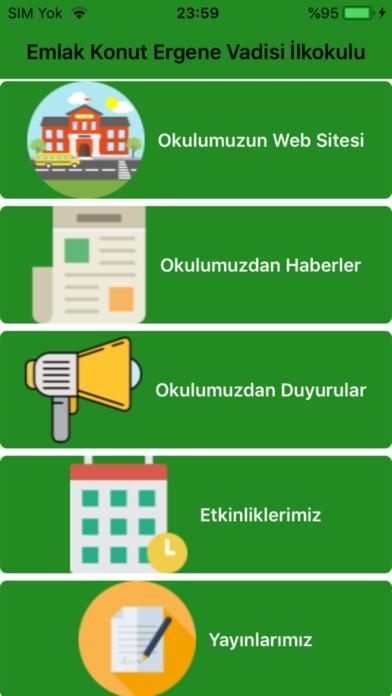 Ekevio Okul Gelişim Projesi screenshot one