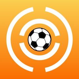 Play football -Through a maze