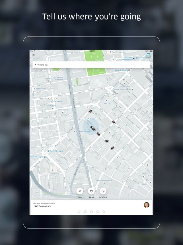 Uber on the App Store