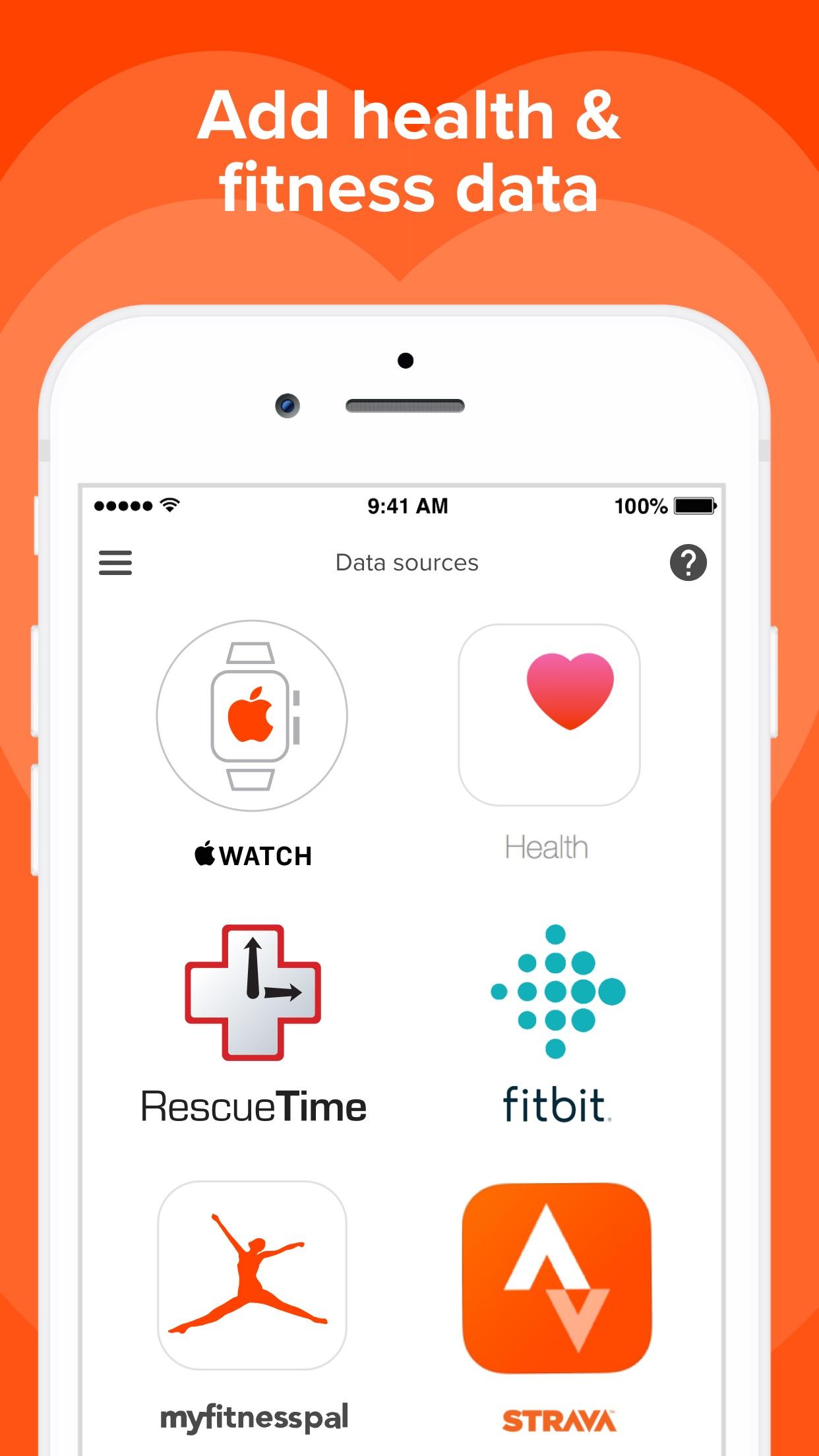 Welltory: wellness HRV tracker Screenshot