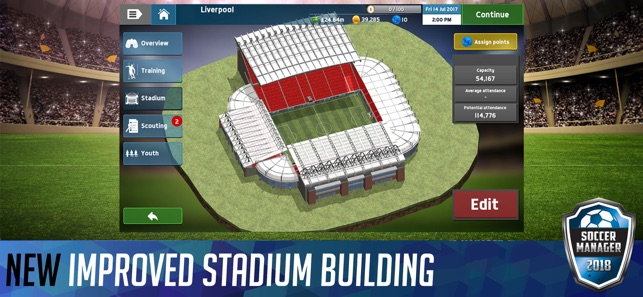 Soccer manager 2018 on the app store soccer manager 2018 on the app store gumiabroncs Image collections