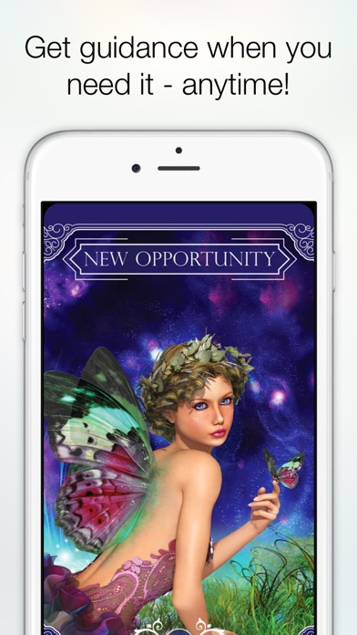 Screenshot #2 pour Ask the Fairies Oracle Cards