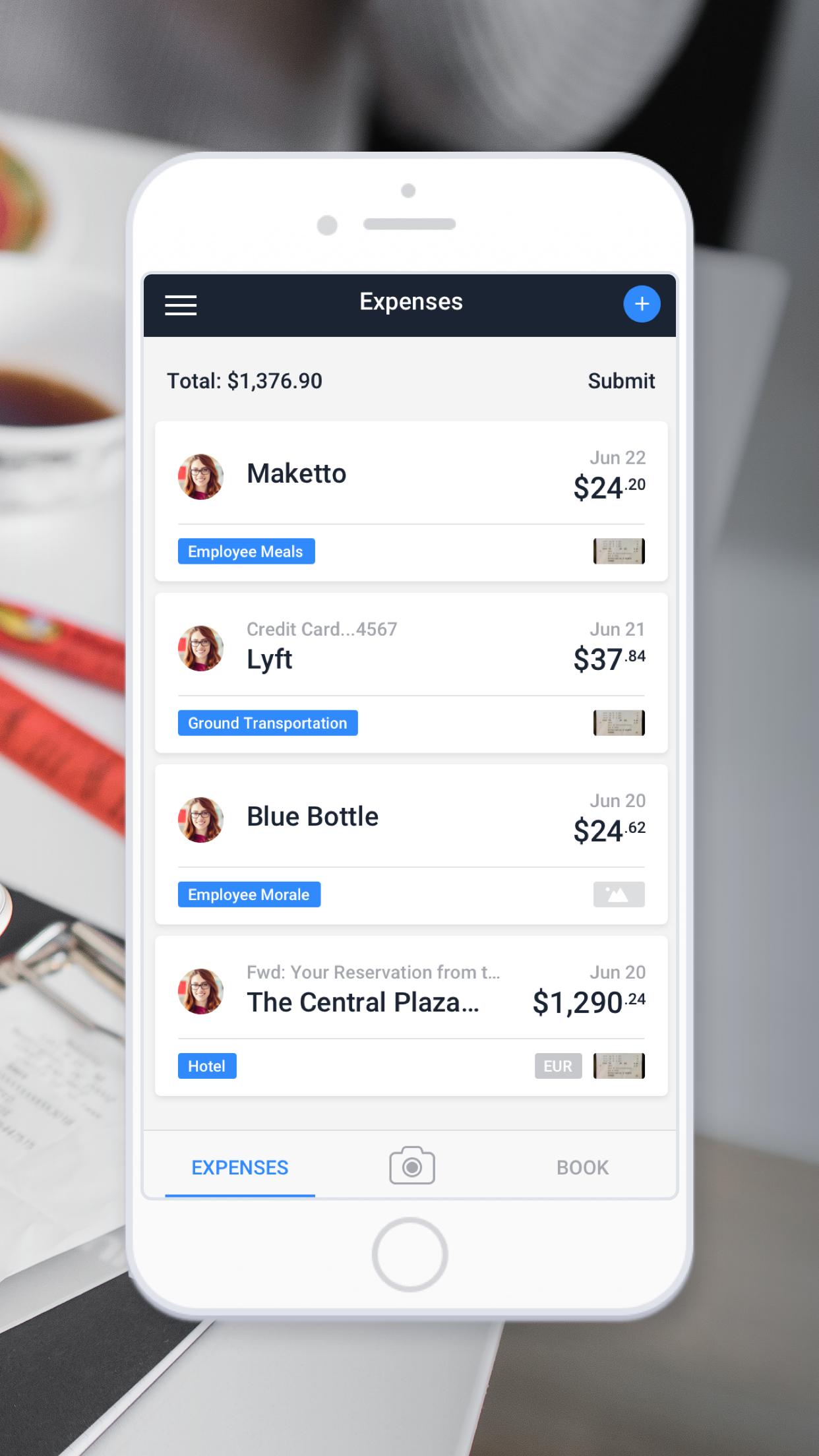 TravelBank - Travel & Expense Screenshot
