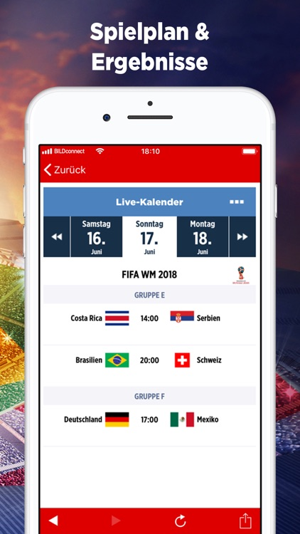 Sport BILD - WM 2018 News screenshot-3