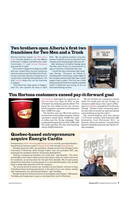 Canadian Business Franchise screenshot-4