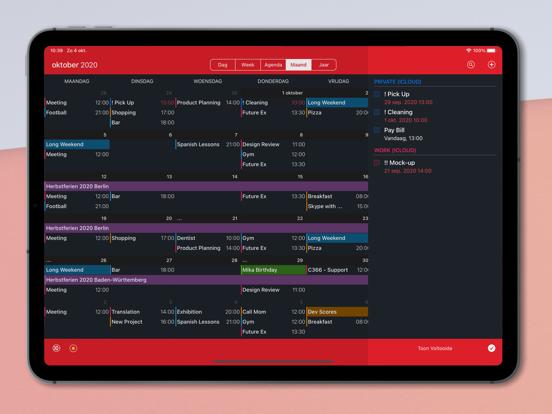 Calendar 366 iPad app afbeelding 6