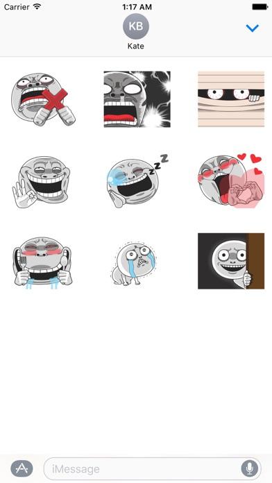 Animated Creepy Emoji Sticker screenshot 2