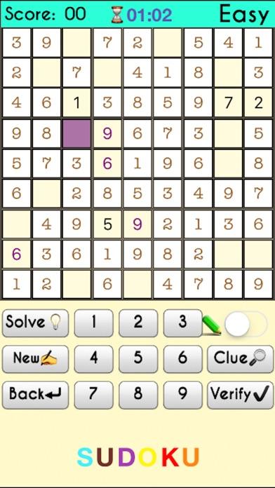 Sudoku -:- Premium screenshot 1
