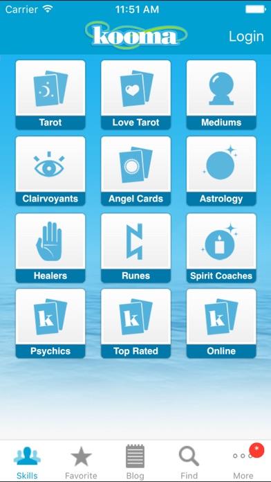 Kooma Psychic & Tarot UK screenshot two