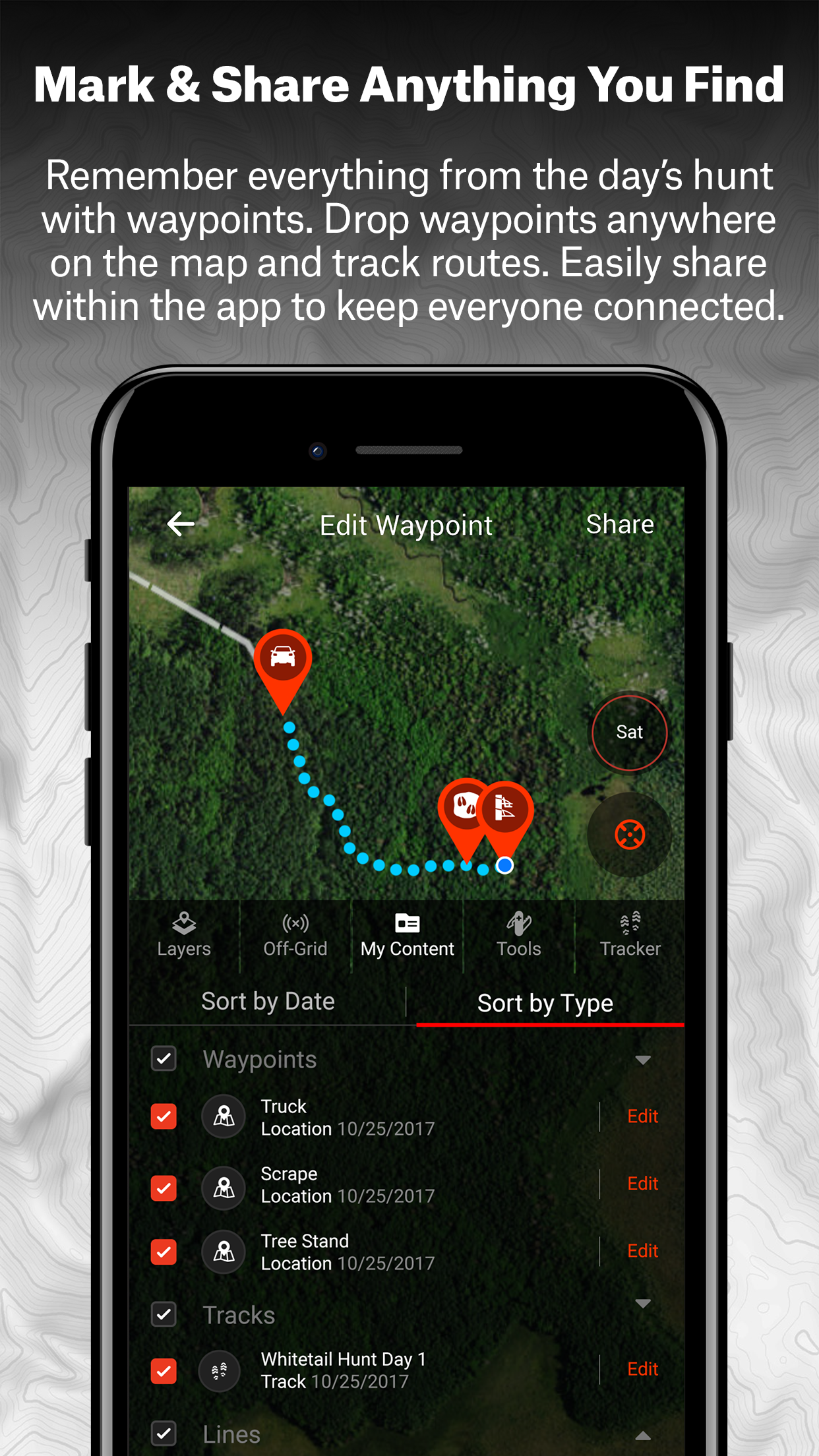 onX Hunt Fishing & Hunting App Screenshot