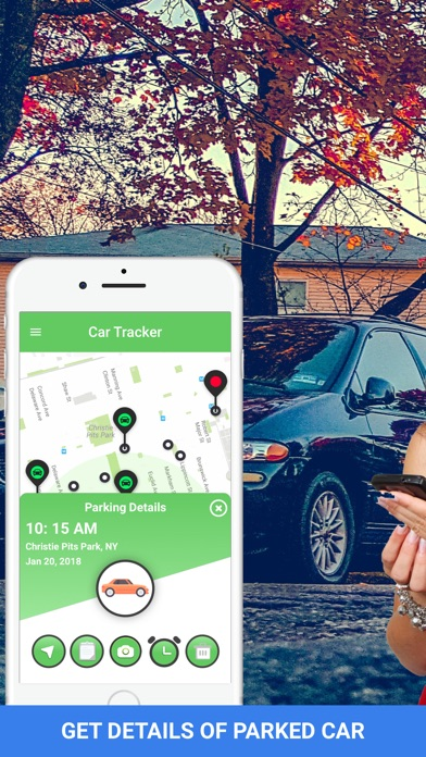 Car Tracker - GPS Auto Locator Screenshot
