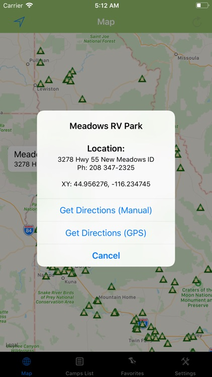 Idaho – Camping & RV spots screenshot-1