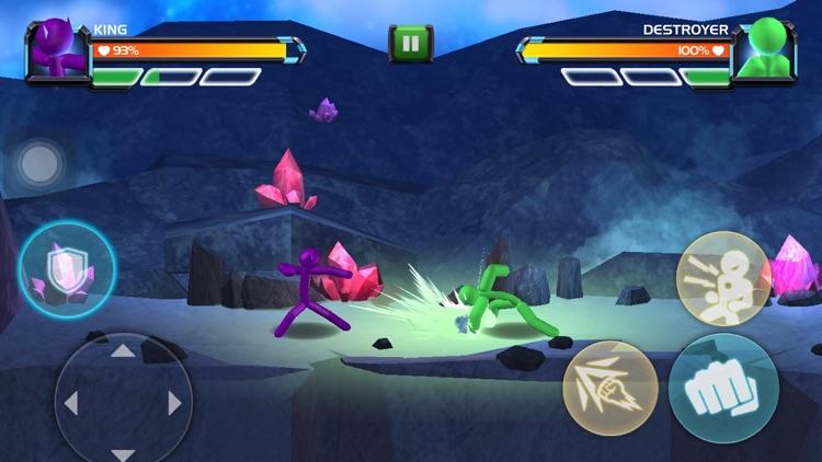 3D Fighting Games: Superhero