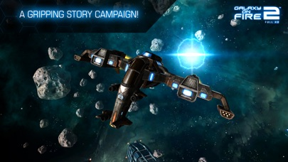 Screenshot from Galaxy on Fire 2™ HD