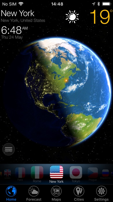 3D EARTH - living rain radar Screenshots