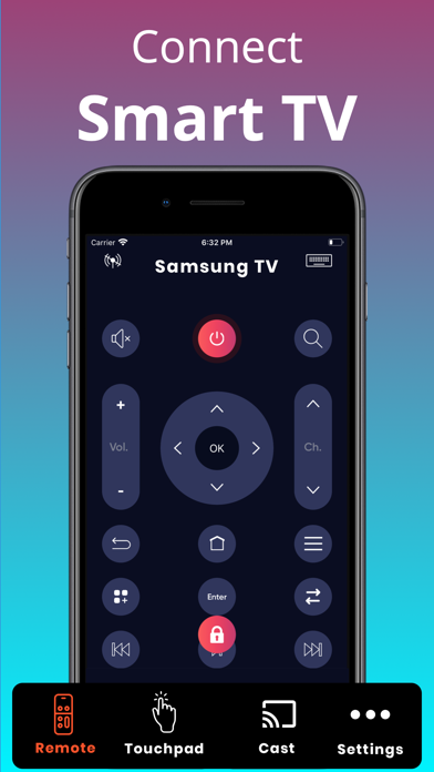 Universal TV Remote Screenshot