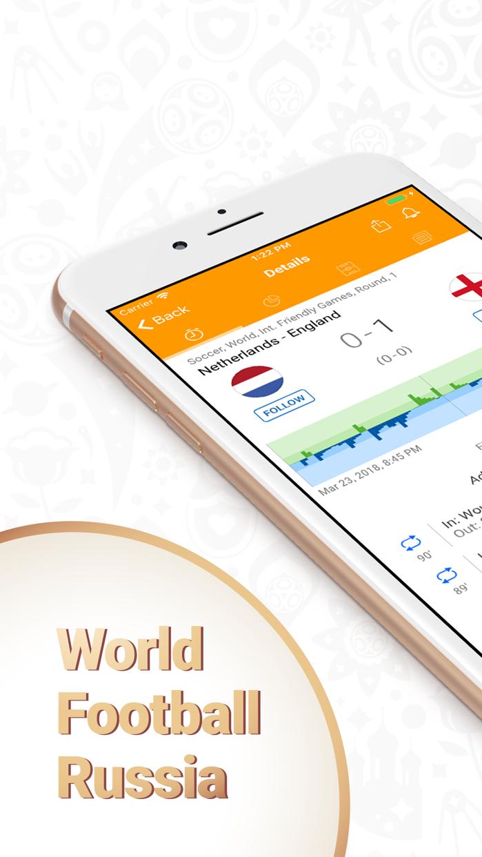 Football results - mundial app Screenshot