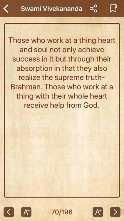 Swami Vivekananda - Quotes screenshot-3