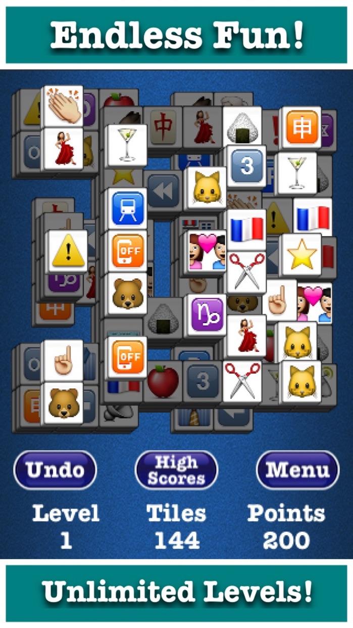Mahjong Jewels™ Solitaire Screenshot