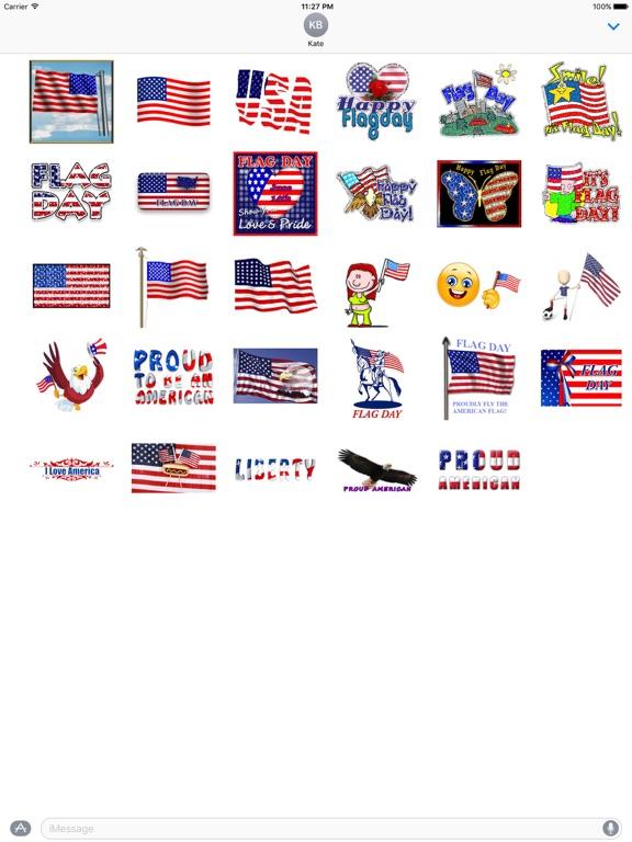 Animated Flag Day Sticker screenshot 3