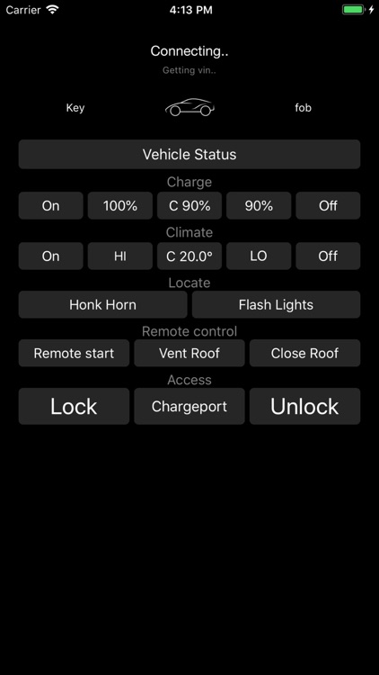 Key fob for Tesla