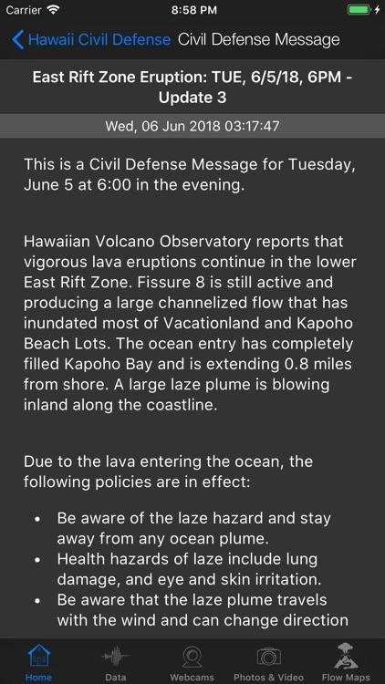 Kīlauea Update screenshot-6