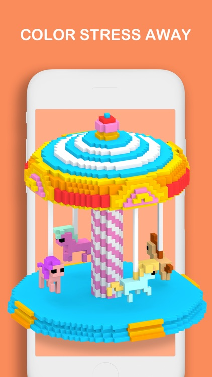 Voxel - Color by Number screenshot-8