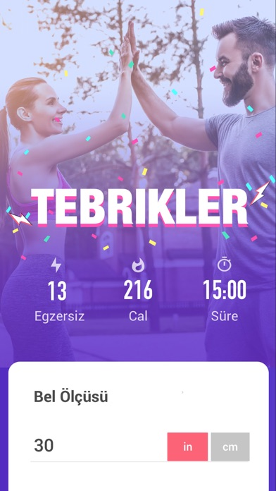 Screenshot for Göbek Eritme Egzersizleri in Turkey App Store