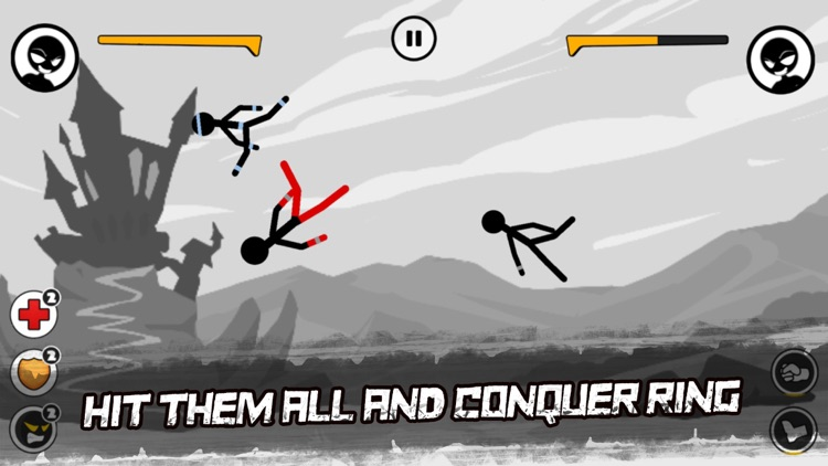 Sticked Man Fighting screenshot-4