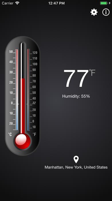 Thermometer++. Screenshot