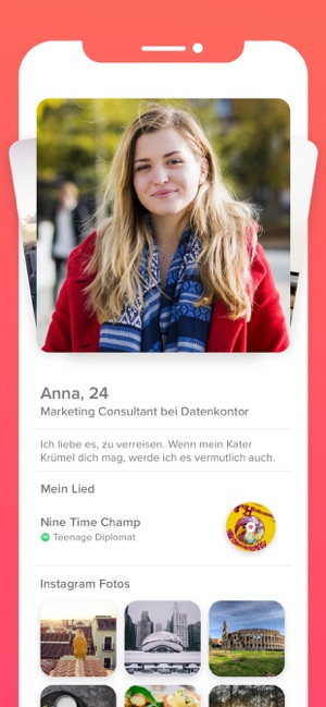 ‎Tinder - die Dating App GOAT Screenshot