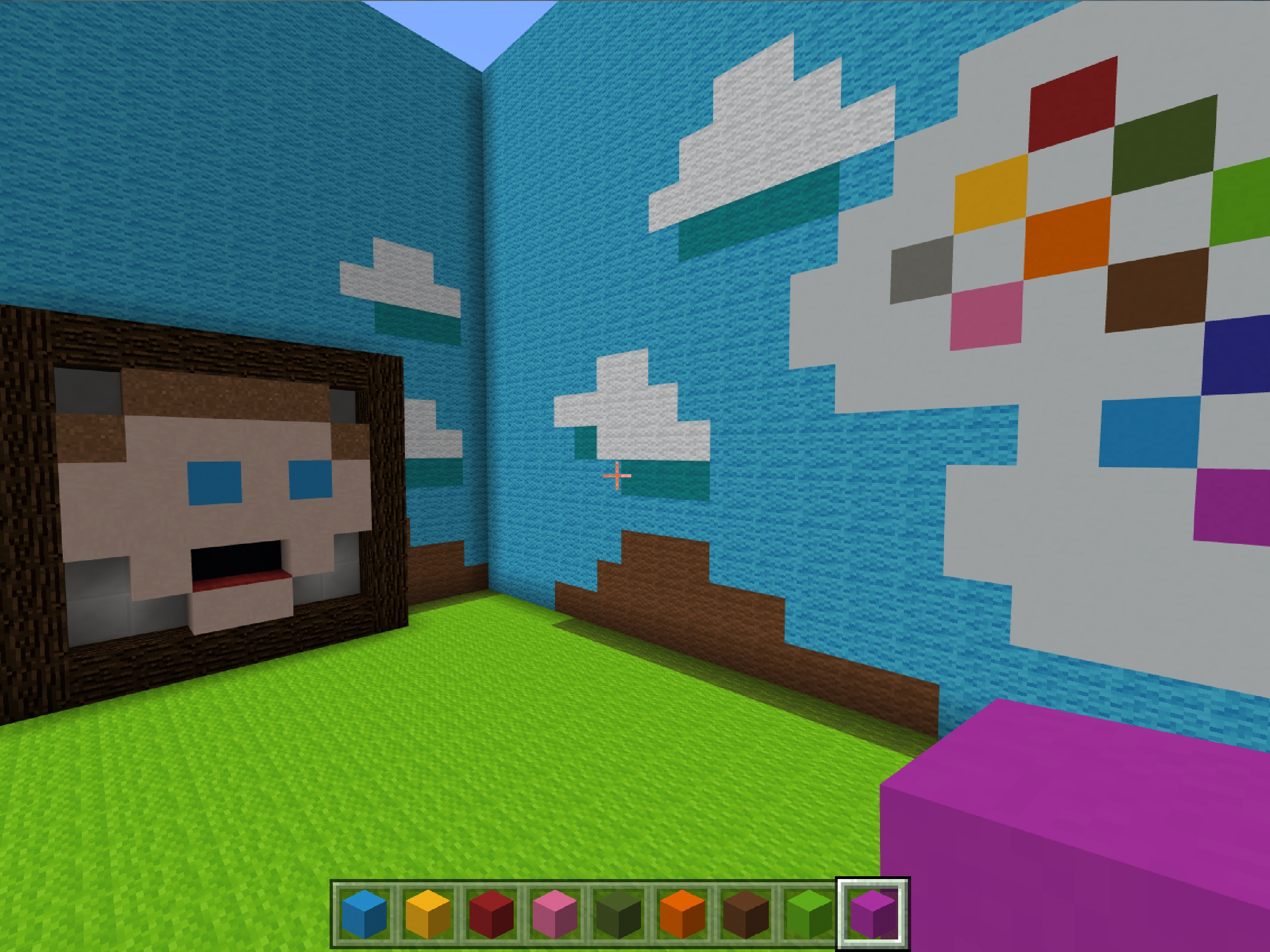 Screenshot do app Minecraft: Education Edition