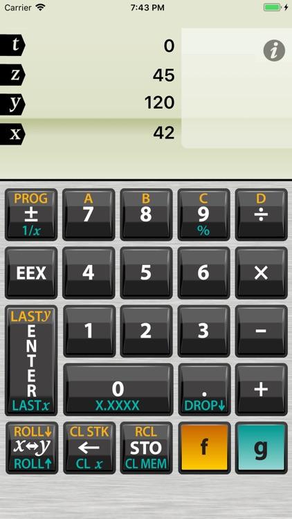 Active RPN Calculator