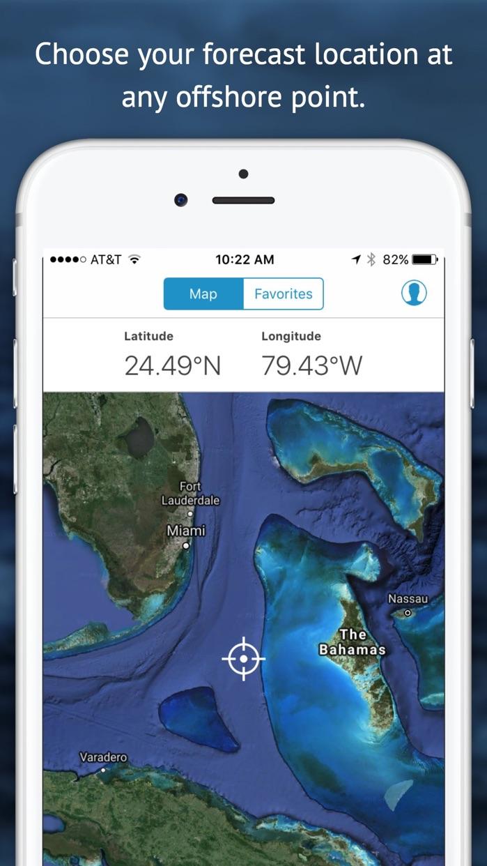 Buoyweather - Marine Forecasts Screenshot