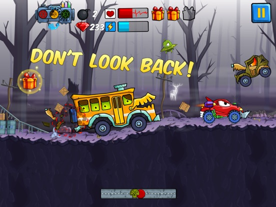 Car Eats Car - Apocalypse Race для iPad