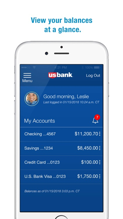 U.S. Bank screenshot-0