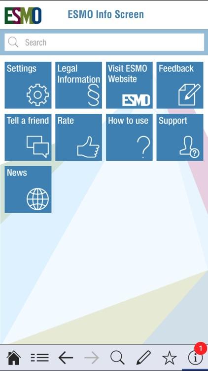 ESMO Interactive Guidelines screenshot-4