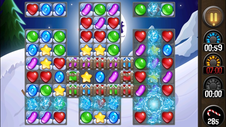 Candy Jewel Easter Match 3 screenshot-3