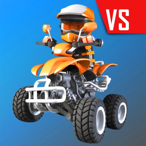 Download Flick Champions VS: Quad Bikes free for iPhone, iPod and iPad