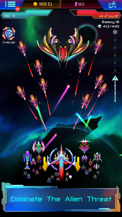 Void Troopers : Sci-fi Tapper screenshot 2