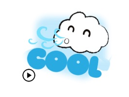 Animated Cute Weather Sticker