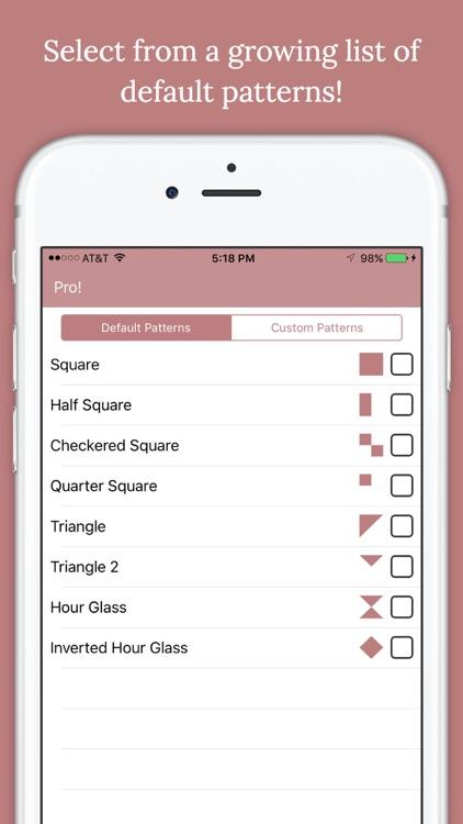 Quiltler - Quilt Designer screenshot-3