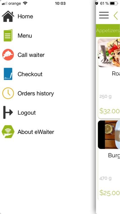eWaiter App screenshot-7
