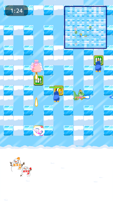 Penguin Wars  -Online Battle- screenshot 1