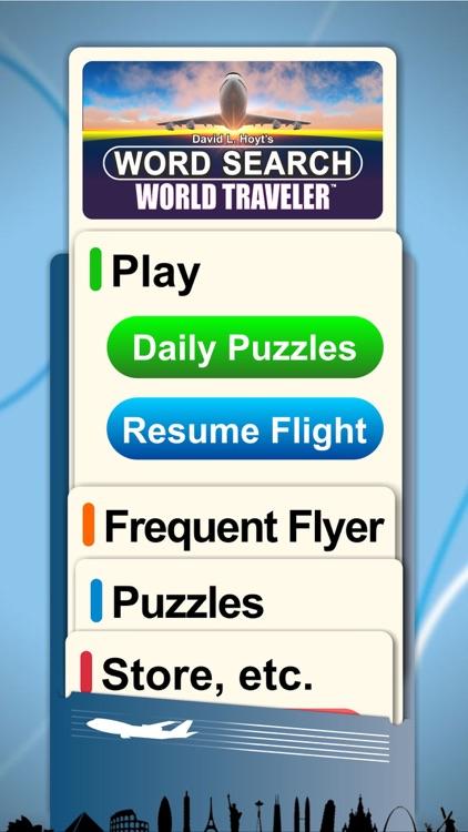 Word Search World Traveler screenshot-3