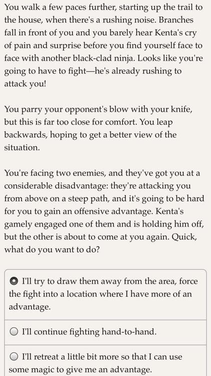 Choice of the Ninja screenshot-3