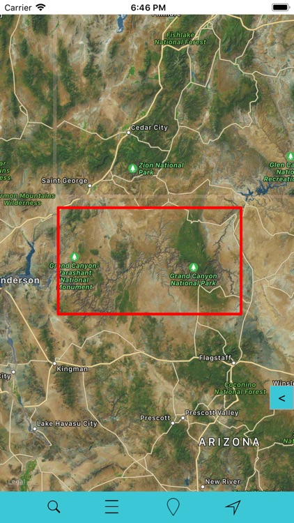 Grand Canyon National Park GPS screenshot-5