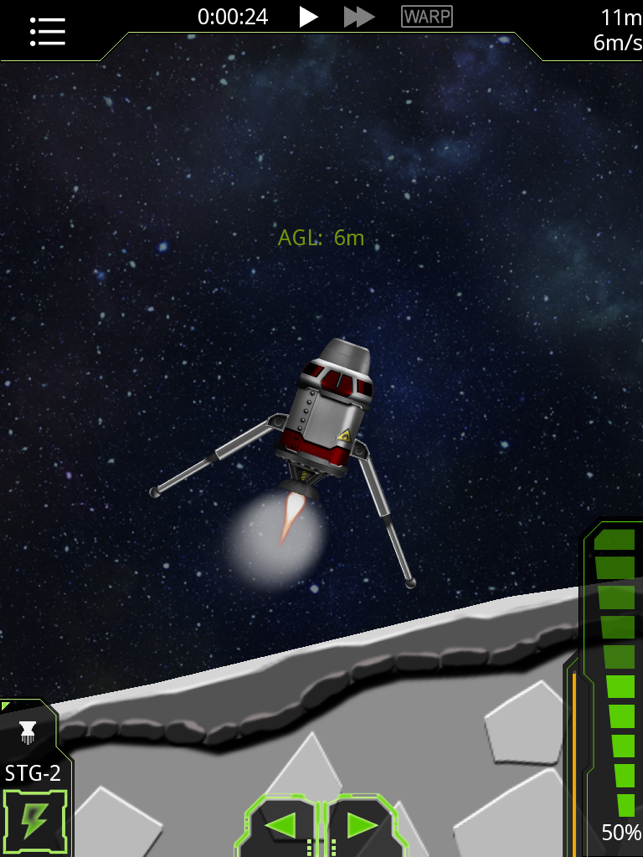 ‎SimpleRockets Screenshot