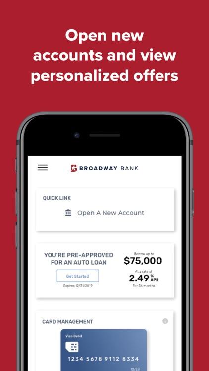 Broadway Bank Mobile screenshot-4